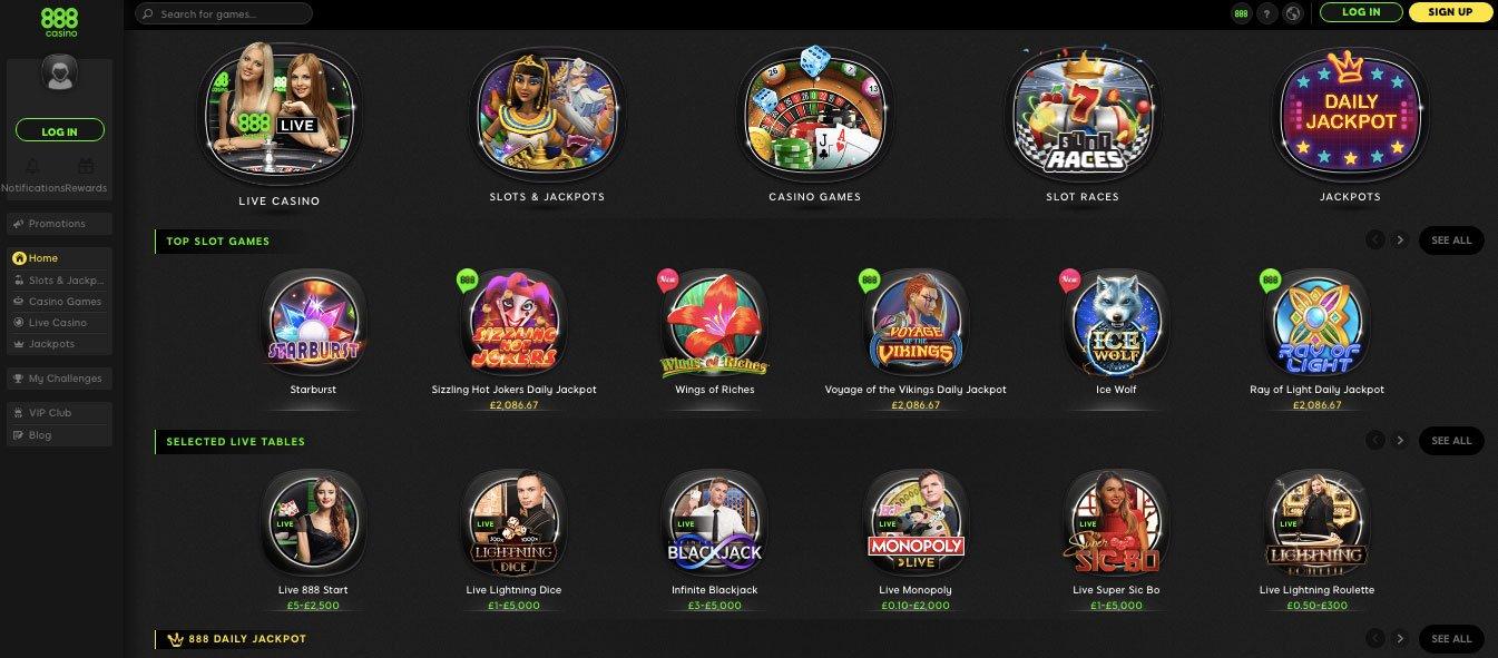 Casino 888 Free Bonus