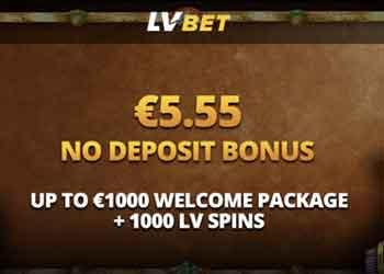 Lvbet No Deposit Bonus Exclusive Free 5 55 No Deposit Bonus